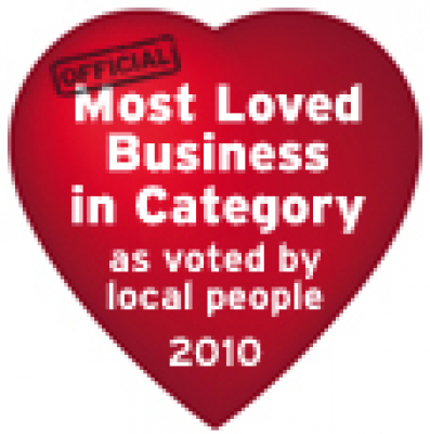 Best loved Business (In Category) 2010