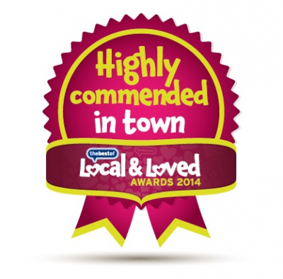 Local & Loved 2014 - Highly Commended in Town