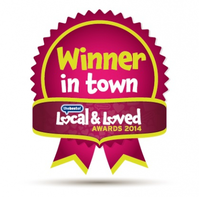 Local & Loved 2014 - Winner in Town
