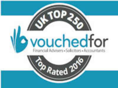 Awarded best IFA in Bridgend by VouchedFor