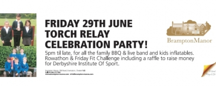Brampton Manor Torch Relay Celebration Party