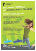Open Days at Chesterfield College