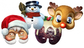Christmas masks now available from Mask-arade