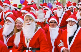 Jingle your bells and sign up for our Santa Stroll