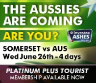 The Aussies are coming are you?