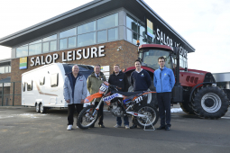 Shropshire companies support motocross event