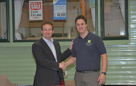Scott gets promoted at Salop Leisure Shrewsbury