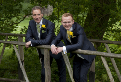 Civil partnership of St Neots couple - June 2013