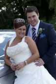 Marriage of couple in the St Neots area -  June 2013