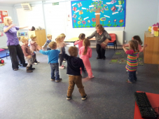 There's a great start for kids at nursery in Pembrokeshire