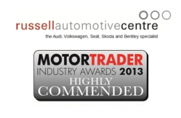 Stop Press - Major Motor Trade Award for North West London Garage