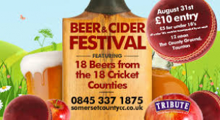 The First Beer and Cider Festival is here!!
