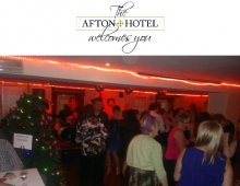 Celebrate Your Christmas Party Night at the Afton Hotel Eastbourne