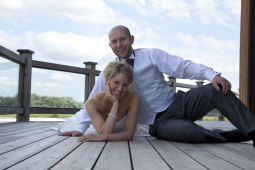 St Neots couple get married August 2013