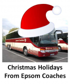 Don't leave it late – Xmas hols get booked early and Epsom Coaches have some great places to go @epsomcoachesgro