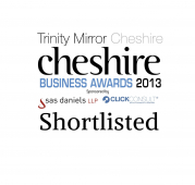 Chester based Daulby Read Insurance Brokers Shortlisted to Final Three in Trinity Mirror Cheshire Business Awards 2013