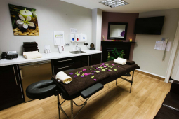 Wycherleys well being and facial cosmetics room