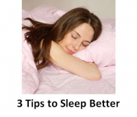 Having trouble sleeping? 3 simple tips which may help from Maria Furtek @ MFHypnotherapy