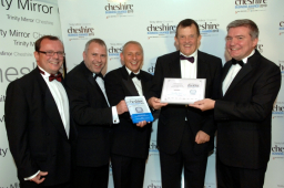 Chester's Daulby Read Celebrate Win At Cheshire Business Awards