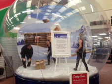 Something new for Grantham - The Snowglobe experience