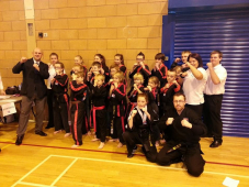 British Championship success for Matt Fiddes Cheshire Martial Arts