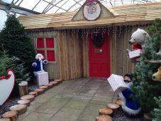 Santa's Grotto at Newbank Garden Centre, Bury
