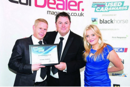 McCarthy Cars in Croydon are on fire, picking up the award for Best Used Car Customer Care