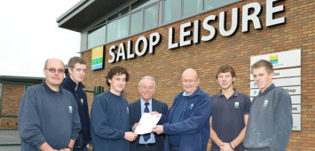 Salop Leisure service engineers gain gas safety qualification