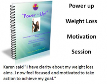 Power-up Weight Loss motivation session – with Maria @MFHypnotherapy