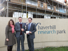 EVERYONE'S A WINNER WITH THE NEW HAVERHILL RESEARCH PARK WEBSITE