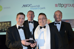 HAVERHILL RESEARCH PARK'S NIC RUMSEY PRESENTS COMPANY OF THE YEAR AWARD