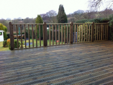 Keep your lawn lovely with decking from Horizon Developments