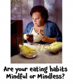 Are your eating habits mindful or mindless? Inspirational advice from Maria Furtek @MFHypnotherapy #dietdemons