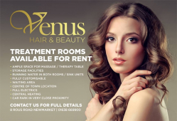 Treatment rooms available to rent at Newmarket salon, Venus Hair & Beauty