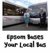 Your Local Bus – Epsom Buses re-launch @epsomcoachesgro #yourlocalbus