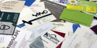 Business Cards from £19.50 at PEP the Printers