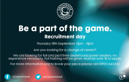 Recruitment Day @ G Casino