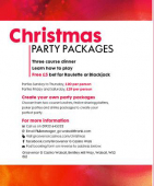 Put a spin on Christmas with these Christmas packages at G Casino
