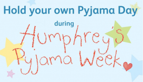 SIGN UP FOR HUMPHREY'S PYJAMA WEEK! With The Children's Trust @Childrens_Trust