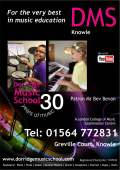Dorridge Music School, Knowle 30yrs of music