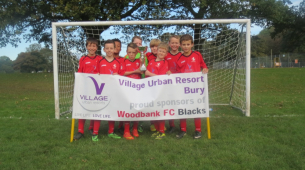 Village Hotel Bury sponsors local football team!