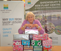 Salop Leisure employee appeals for Christmas 'Love in a box' donations