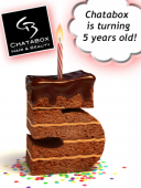 Chatabox Hairdressers in Bloxwich are turning 5 years old!