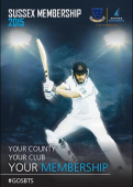 Sussex County Cricket Club 2015 membership package announced