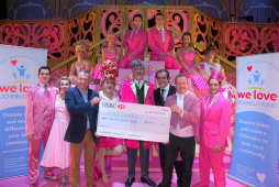 Cinderella helps local Lichfield charity.