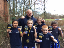 7 x New Champions for Telford Thai Boxing