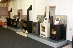 Woody wood products for seasoned logs and solid fuel in telford