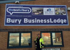 In the Know - Tony Flood from Bury BusinessLodge