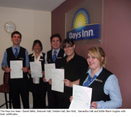 Talented team takes top marks for training