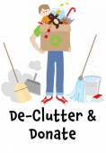 De-Clutter And Donate! For The Children's Trust @childrens_trust #declutter